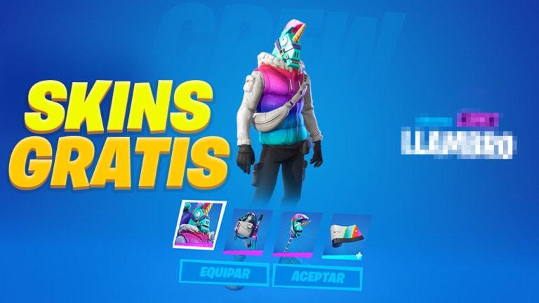 conseguir skins gratis en fortnite
